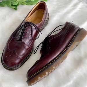 Men's 11 Dr. Martens Oxblood Burgundy dress shoe